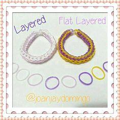 LAYERED and FLAT LAYERED Bracelets