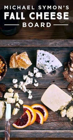 With an October chill in the air, Chef Michael Symon's harvest cheese board inspires a cozy night in with all the flavors of the season, from fig to pumpkin to blood orange. Get the recipe here.