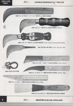 Bespoke Shoes Unlaced - a shoemaking blog: Sharp Knife Or Blunt Knife?