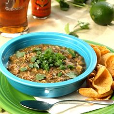 Slow carb green chili