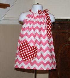 Love this pillowcase dress!