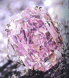 Pink diamond ring.     Are you freakin' kidding me?! I can barely fathom how stunning this is. Wow!