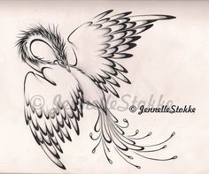 phoenix tattoo by ~Canned-Beans on deviantART