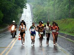 Marathon in Iguaçu Falls