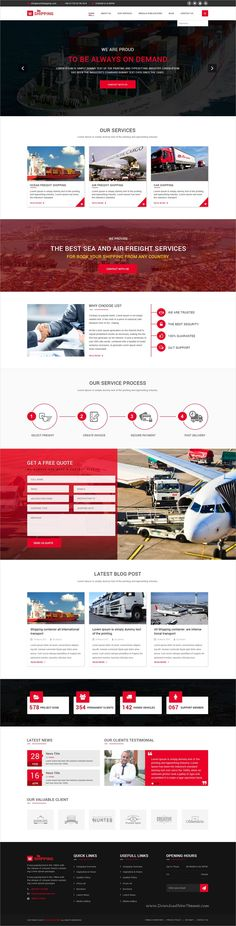 W-Shipping is a wonderful #PSD template for #Shipping, Cargo, #Logistics Industrial website with 12 layered PSD files download now➩ https://themeforest.net/item/wshipping-the-shipping-cargo-logistics-industrial-psd-template/19659540?ref=Datasata