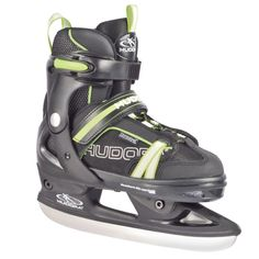 HUDORA Schlittschuh RGO Grün, Gr. 33-36 #schlittschuh #eislaufen #schneerutscher #wintersport #spaßimschnee #schlitten #schlittenfahren #winterspaß #schnee #eis #kinder Nylons, Golf Bags, Fit, Hiking Boots, Helmet, Baby, Sneakers, Sports, Outdoor