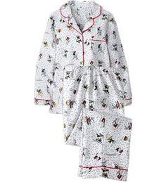 Peanuts Snow Fun Pajamas