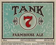 Tank 7 #branding #packaging #vintage #design