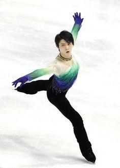 フィギュアスケートのグランプリシリーズ第2戦、スケートカナダ。男子フリーで演技す - Yahoo!ニュース(時事通信)