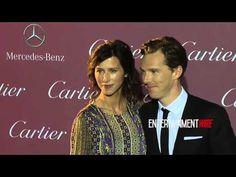 Benedict Cumberbatch, Sophie Hunter 26th Annual Palm Springs International Film Festival Awards Gala - YouTube