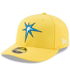 Tampa Bay Rays New Era 2017 Players Weekend Low Profile 59FIFTY Fitted Hat - Yellow