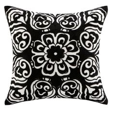 Accent Pillow - Natori Black Silk Pillow