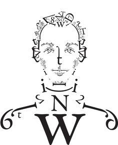 typographic portrait