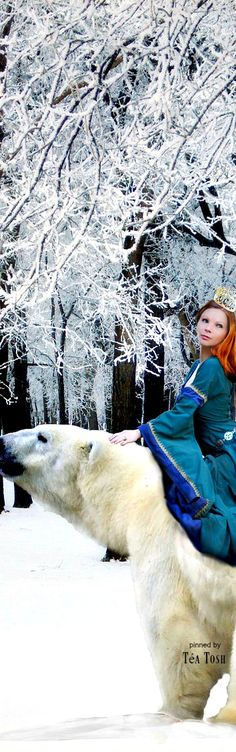 The Polar Bear King by TokyoMarble on DeviantArt Snow Maiden, Legends And Myths, Fantasy Life, Creative Colour, Its Cold Outside, Snow Queen, Magical Creatures, Narnia, Once Upon A Time