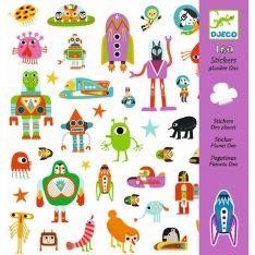 160 Sticker Oxo Planet