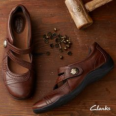 Clarks shoes - cute and comfortable. Love this brand, especially when they have sales going on.