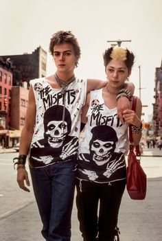 Punks in New York 1981