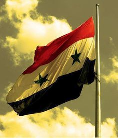 The lovely Syrian flag Syria Pictures, Syria Flag, Damascus, Iphone Wallpaper, History, Outdoor Decor, Anime, Traveling, Batman