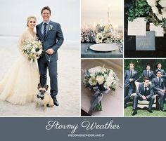 Blue Grey Weddings, Gray Wedding Colors, Blue Wedding, Fall Wedding, Wedding Flowers, Wedding Dresses, Autumn Weddings, Pantone 2015, Wedding Motifs
