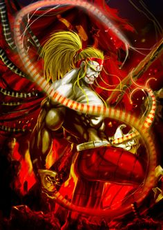 Omega Red by Grapiqkad