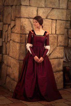 La belle ferronnière Renaissance robe robe par FiorentinaCostuming