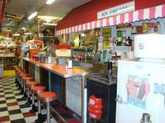 Soda+Shop+Counter | Omaha Fairmont Antique and Mercantile - Omaha's Antique Mall, Soda ...