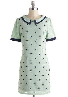Piece Of Your Heart Dress, #ModCloth
