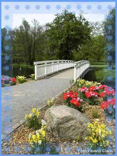 Unbetitelt Garden Bridge, Outdoor Structures, Pictures, Nature