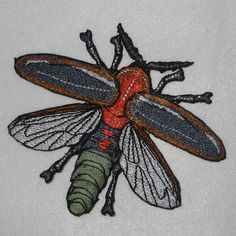 Glowing Fire Fly Photinus pyralis Iron on Patch Pin And Patches, Iron On Patches, Firefly Art, Draw A Box, Hot Melt Adhesive, Display Boxes, Design Show, Embroidery Stitches, Wildlife Conservation