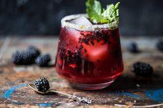 Blackberry Bourbon Smash | halfbakedharvest.com @hbharvest