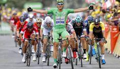 Marcel Kittel sprints to win Stage 10 at Tour de France