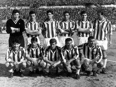 Gilberto Noletti in una formazione della Juventus 1962
