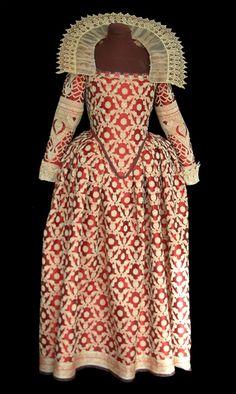 Venizianisches Kleid für Alte Musik
