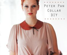 This peter pan collar is the perfect addition to any outfit. | 41 Awesomely Easy No-Sew DIY Clothing Hacks