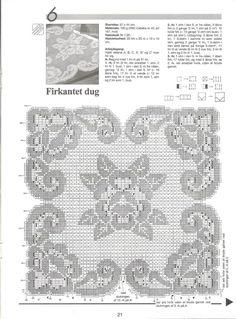 Haekling № 17 manteles, servilletas, cortinas - albahaca - Blog de albahaca