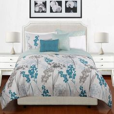 Belle 5-pc. Reversible Comforter Set