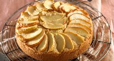 A slice a day might not keep the doctor away, but this beautiful apple cake will definitely give your sweet tooth a reason to smile! Allergy Free Recipes, My Recipes, Sweet Recipes, Cooking Recipes, Healthy Recipes, Apple Tea Cake, Gluten Free Cakes, Gluten Free Cooking, Tea Cakes