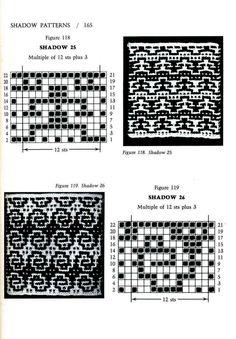 Mosaic Knitting Barbara G. Walker (Lenivii gakkard) Mosaic Knitting Barbara G… Fair Isle Knitting Patterns, Intarsia Patterns, Knitting Charts, Mosaic Patterns, Knitting Designs, Knitting Stitches, Stitch Patterns, Motif Fair Isle, Fair Isle Chart