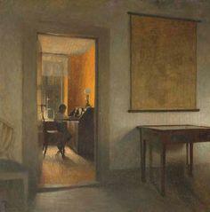 Peter Ilsted (Danish, 1861-1933) - Interior