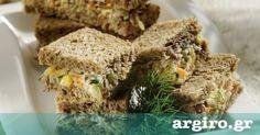 Σάντουιτς με τόνο και ψωμί του τοστ από την Αργυρώ Μπαρμπαρίγου | Νόστιμα, υγιεινά και πολύ χορταστικά. Τέλειο υγιεινό σνακ για το γραφείο ή για εκδρομές