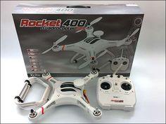 Ich bin nicht fürs fliegen gemacht, bleib am Boden, des wegen trenne ich mich von meinem XciteRC Rocket 400 GPS - RTF - Quadrocopter