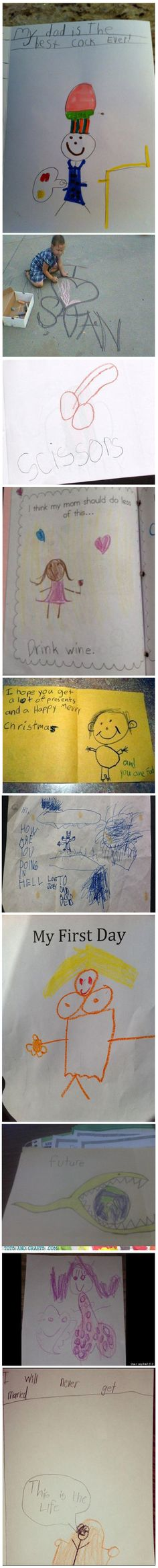 10 Unintentionally Inappropriate Drawings by Kids   No Need to ApplyNo Need to Apply