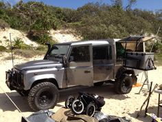 #LandRover Defender 130 fit for travel