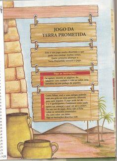 CANTINHO DAS HISTÓRIAS BÍBLICAS: JOGO DA TERRA PROMETIDA