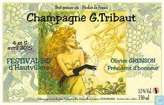 Ex-Libris BD et tirages - Etiquette de bière / Etiquette de vin - Champagne G. Tribaut