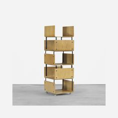 288: Roger Legrand / Pan-U Modular System bookcase < Important Design, 11 December 2014 < Auctions | Wright