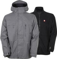 686 Mens Authentic Smarty 3 In 1 Form Jacket