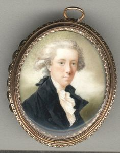 1 British Miniature Portraits: Donaldson, John - portrait of William Pitt the Younger