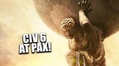 Civilization 6 Panel at Pax #CivilizationBeyondEarth #gaming #Civilization #games #world #steam #SidMeier #RTS