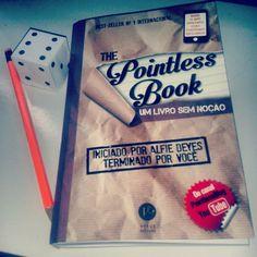★★★★☆ Resenha do #livro sem noção #ThePointlessBook da #EditoraVerus no #blogEuInsisto ! http://euinsisto.com.br/the-pointless-book-alfie-deyes/ #instabook #book